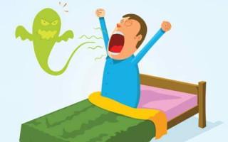 Запах изо рта по утрам, причины, способы устранения, профилактика