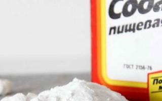 Флюс и сода: лечение в домашних условиях