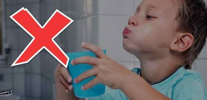 Чего нельзя делать при флюсе у детей