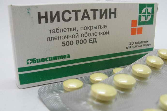 болтушка на основе нистатина используется для обработки слизистой