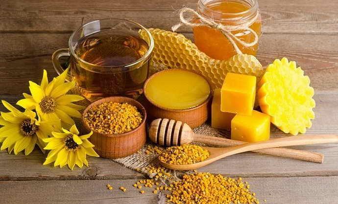 мед и прополис от пародонтоза