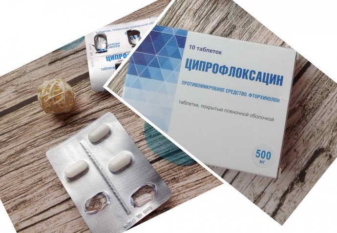 Ципрофлоксацин от периодонтита