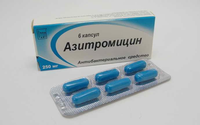 Азитромицин антибиотики после удаления зуба