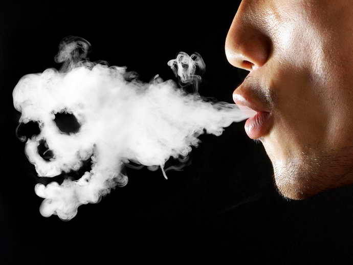 курение и боль языка
