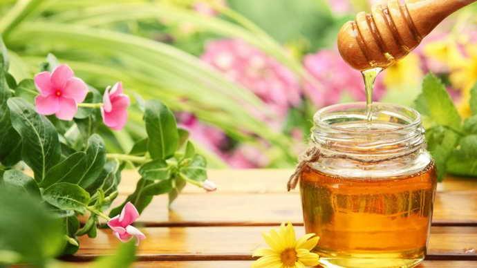 Натуральный мед от географического языка