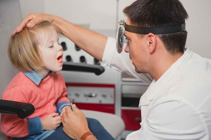 Диагностика стоматита у ребенка