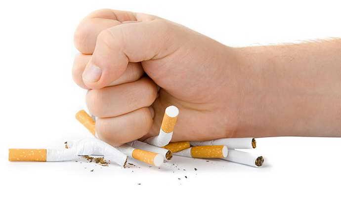 курение как причина стоматита