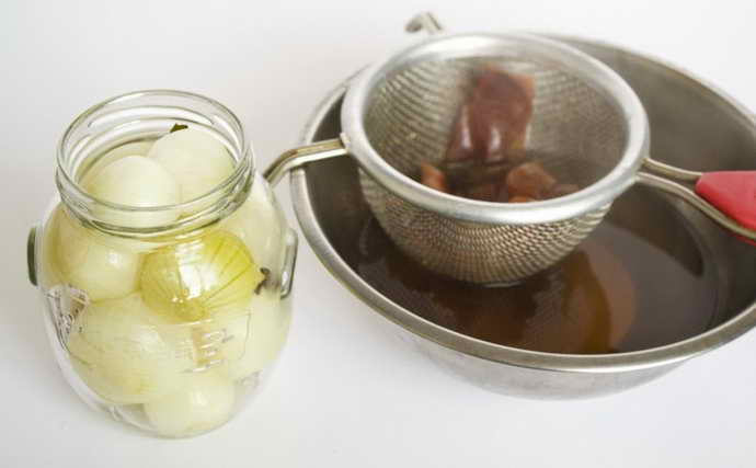 рецепт на основе лука от флюса