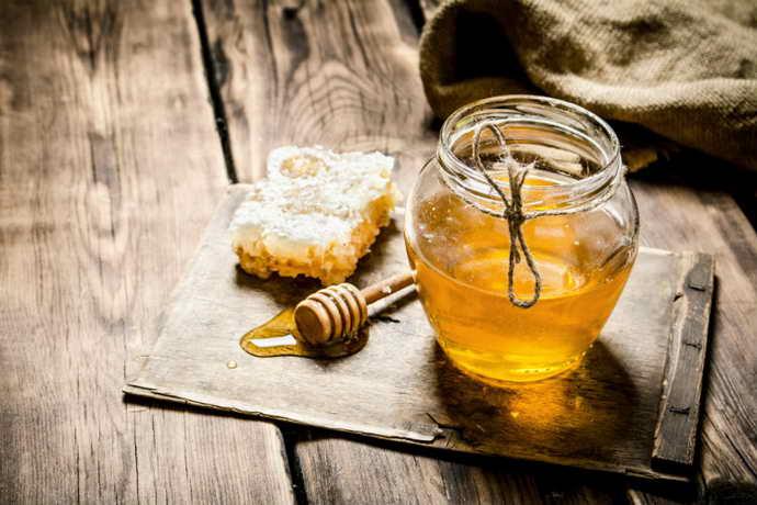 мед для лечения боли языка