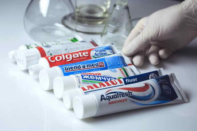 зубные пасты с фтором