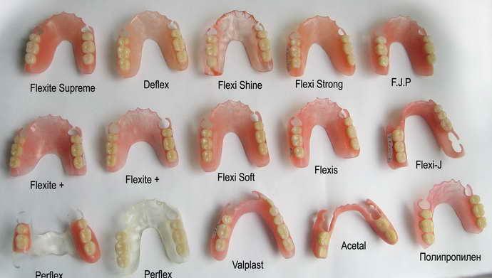 Способы протезирования утраченных зубов