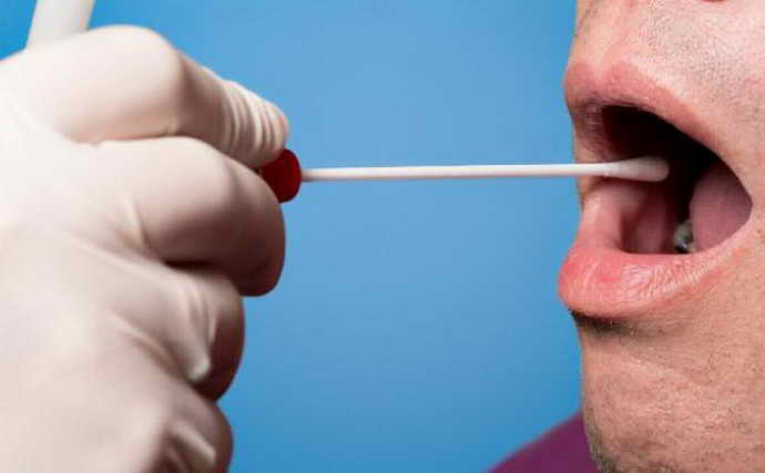 Соскоб с эпителия рта и рецидивирующий стоматит