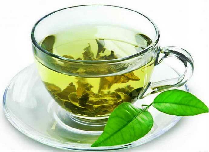 Зеленый чай при глоссите