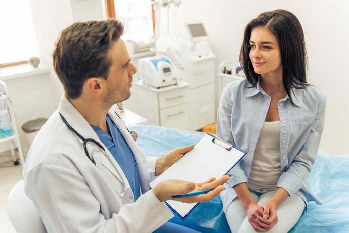 Диагностика складчатого глоссита