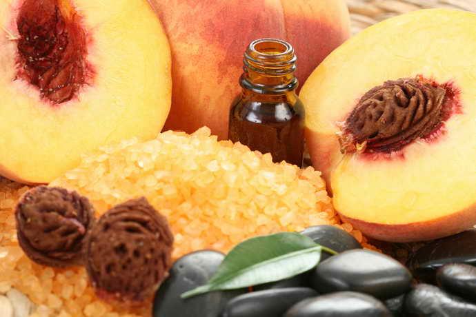натуральные масла персика от стоматита на небе