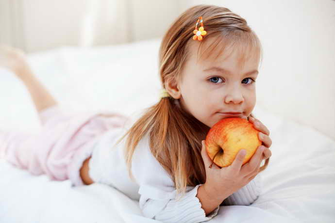 Правильный рацион для детей при стоматите