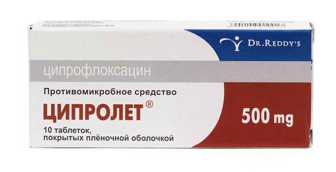 Ципрофлоксацин от свища