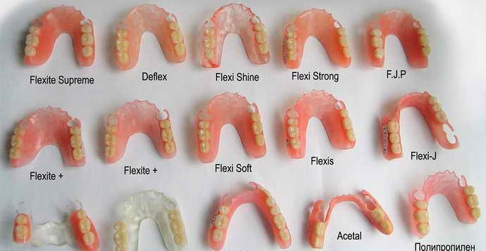 установка искусственной челюсти