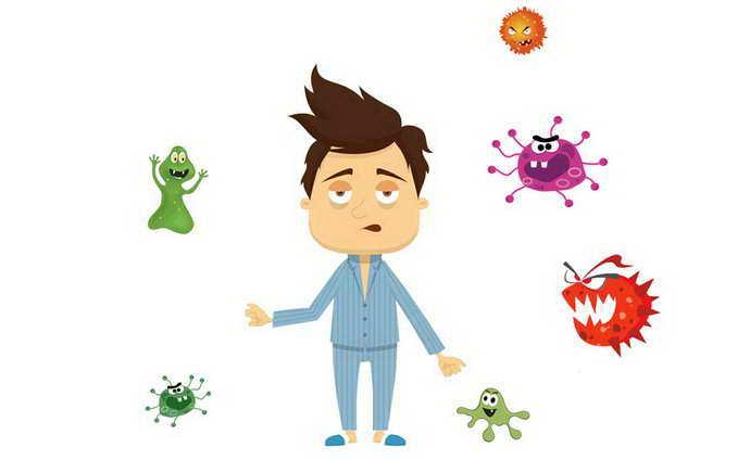 У малышей язвенный стоматит возникает вследствие плохой сопротивляемости патогенным микроорганизмам