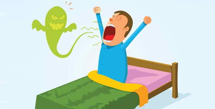 Запах изо рта по утрам: причины неприятностей после сна