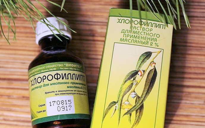 зеленый налет на языке полоскание