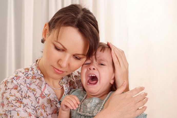 не ругать детей при стоматите
