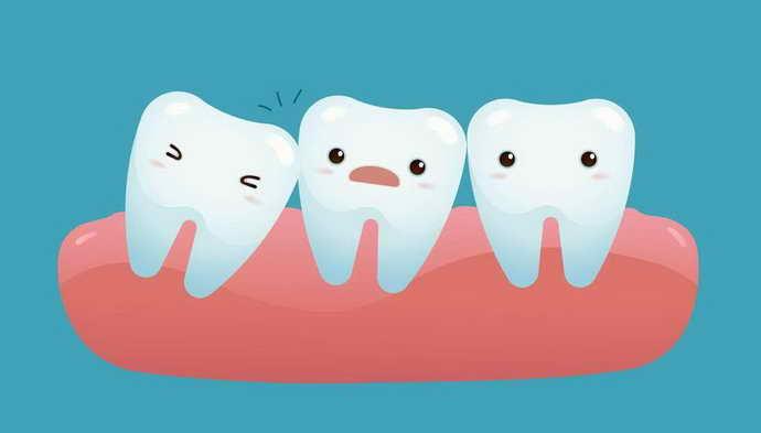 Выровнять направление роста зуба