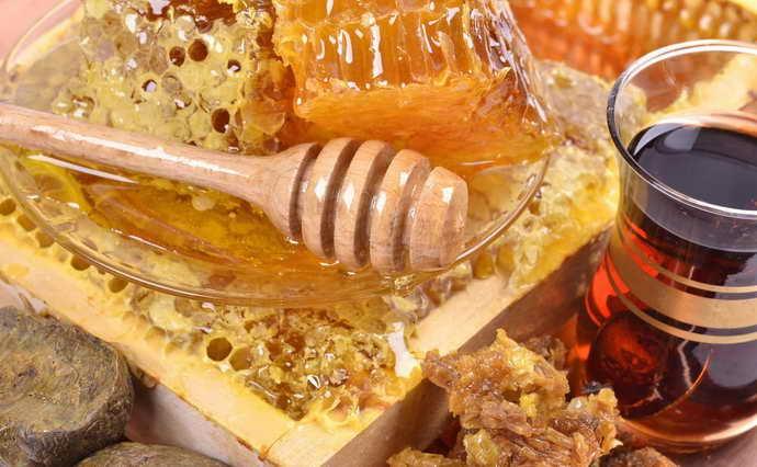 Мёд и прополис от стоматита
