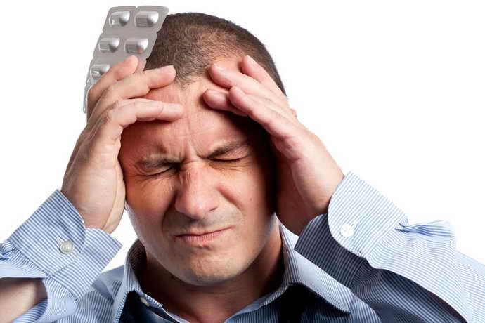 головная боль и язвы на языке